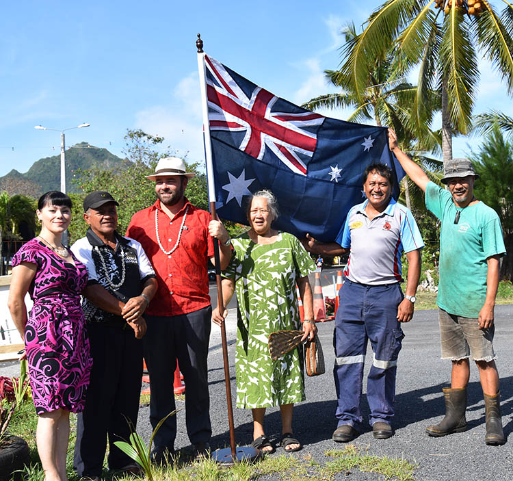 Deeping their roots in Cook Islands for Australia Day