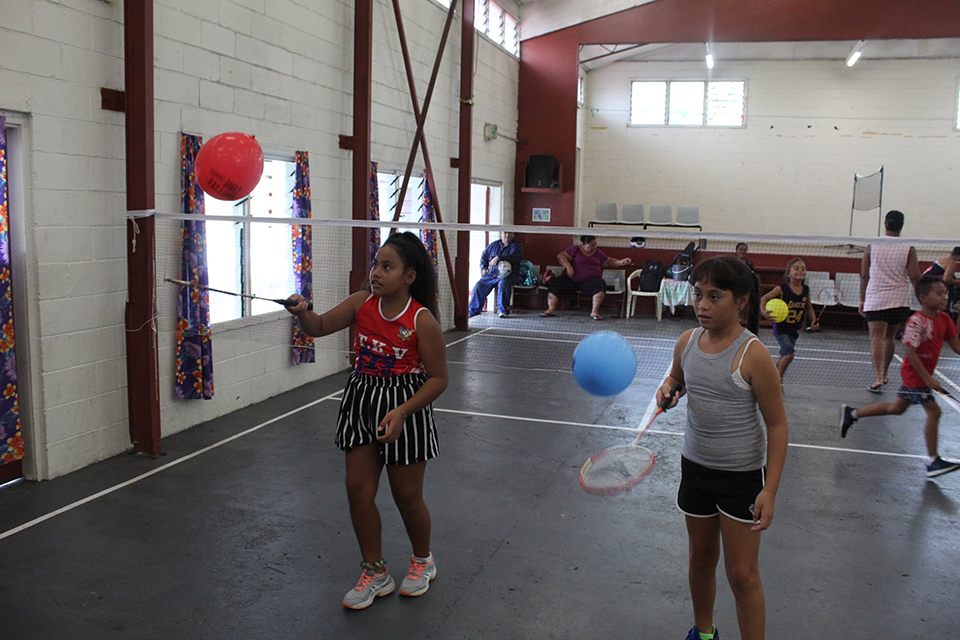 Badminton gets  off to flying start