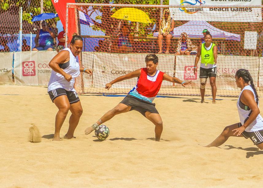 Teams confirmed for beach soccer