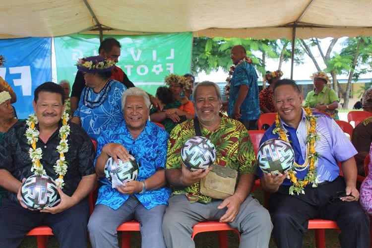 Milestone for Mangaia Football