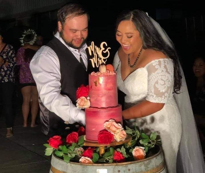 Couple say 'I do' at midnight