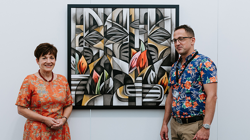 Local gallery participates in Auckland Art Fair in the midst of Covid pandemic