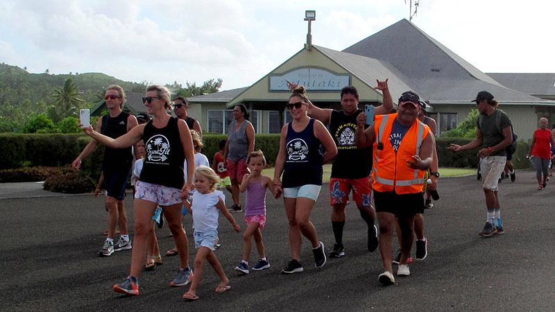 Going local at Aitutaki Marathon