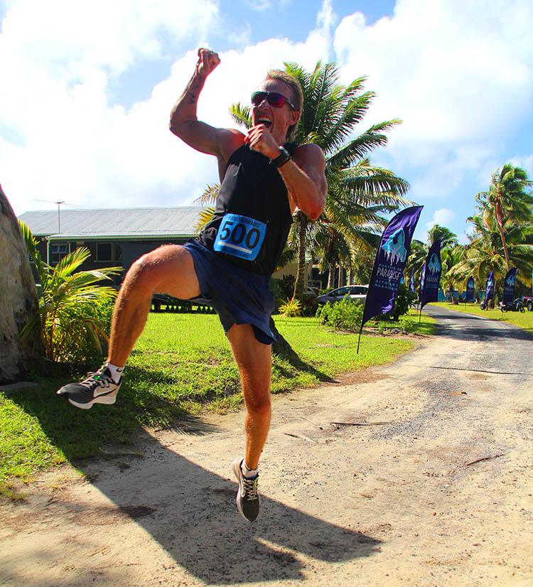 Marathon triumph!