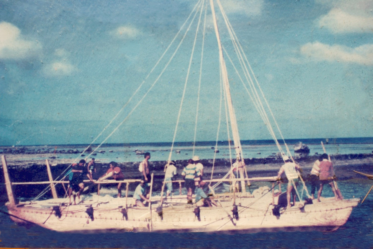 Mutiny on the Vaka? The story of unescorted Mangaian sea voyage