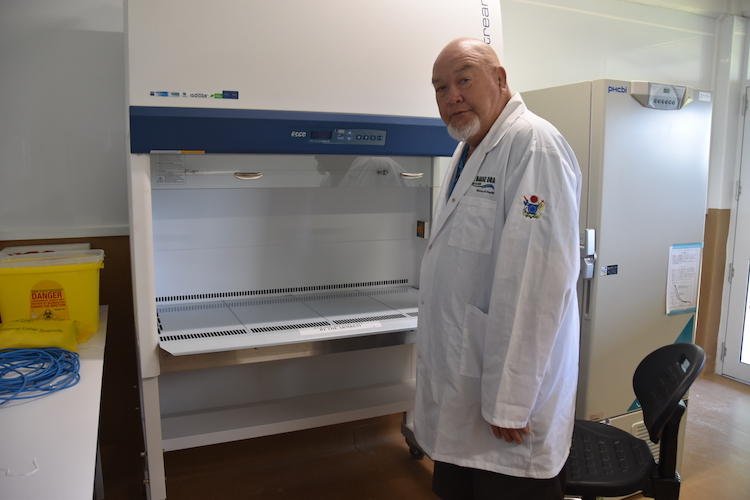 Covid mass testing lab won't be ready when country 'opens for business'