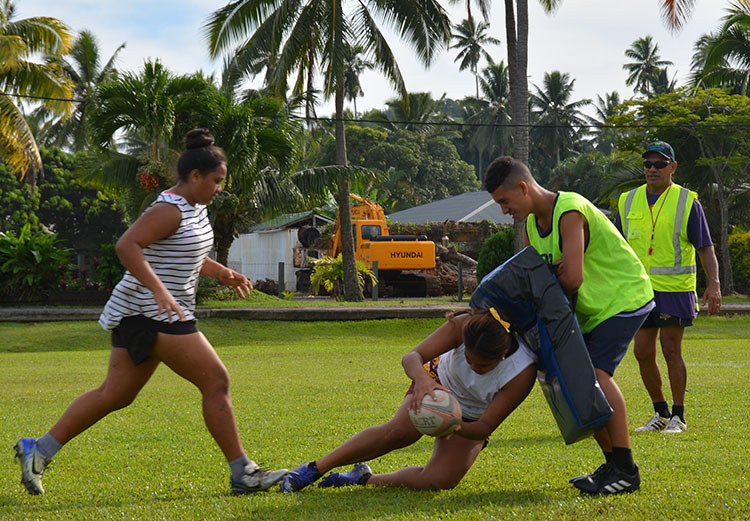 Talented players eye a rugby career