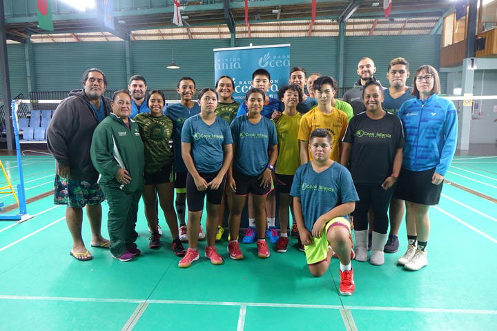 Badminton players relishing time in NZ