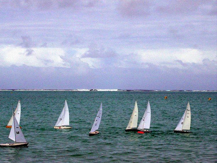 Islands battle in Electron Sailing Regatta