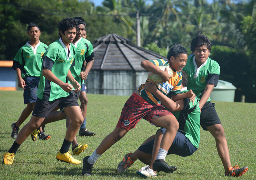 Year 10IK claims Tereora College Sevens title