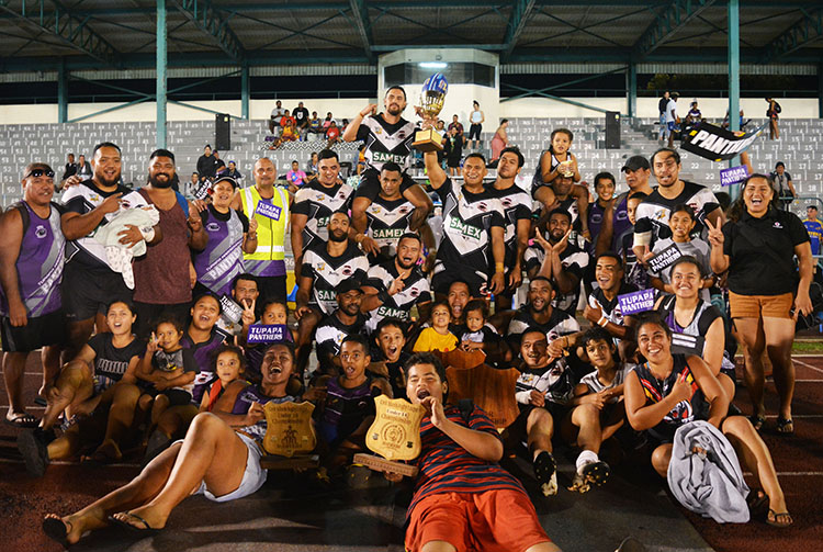 Roaring Panthers claim league title