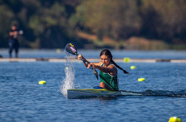 Local kayakers impress