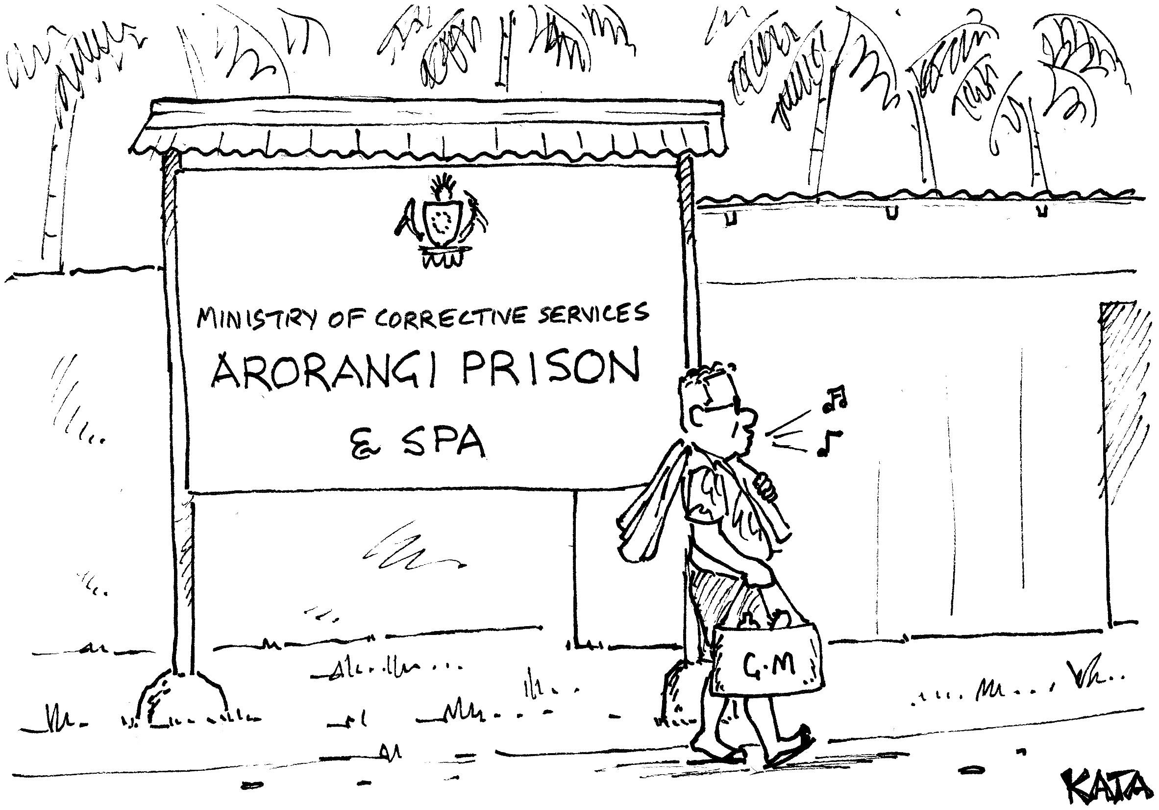 KATA: Arorangi Prison & Spa?