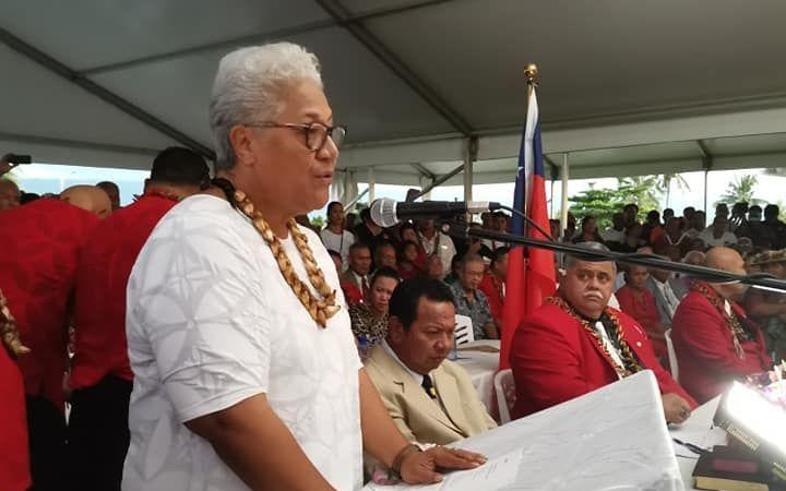 Samoa: Fiame calls for Tuilaepa to end 'enormous assault'
