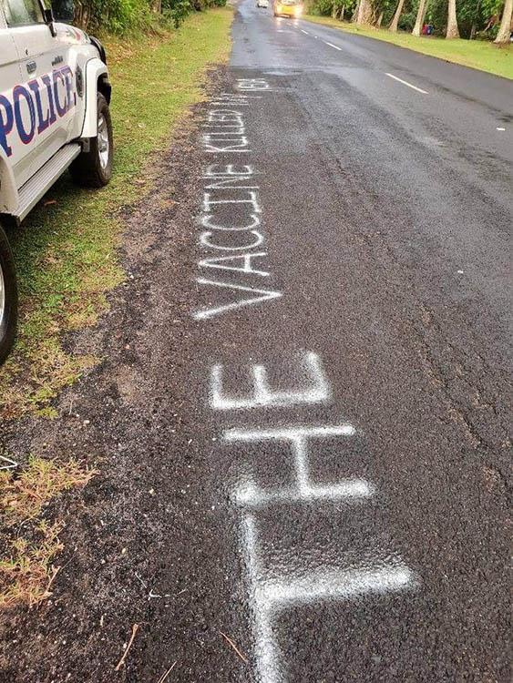 Graffiti writer strikes again, police consider taking action