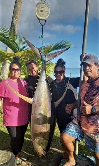 Amuri-Ureia Mamas reel in winning tuna
