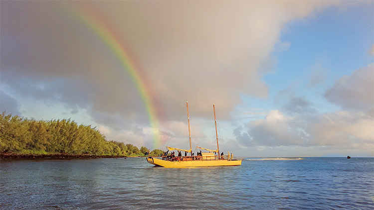 Vaka sets sail on maiden voyage to the North