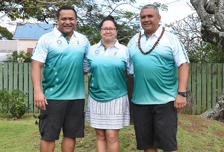 Team Cook Islands unfazed by growing Covid cases in Japan