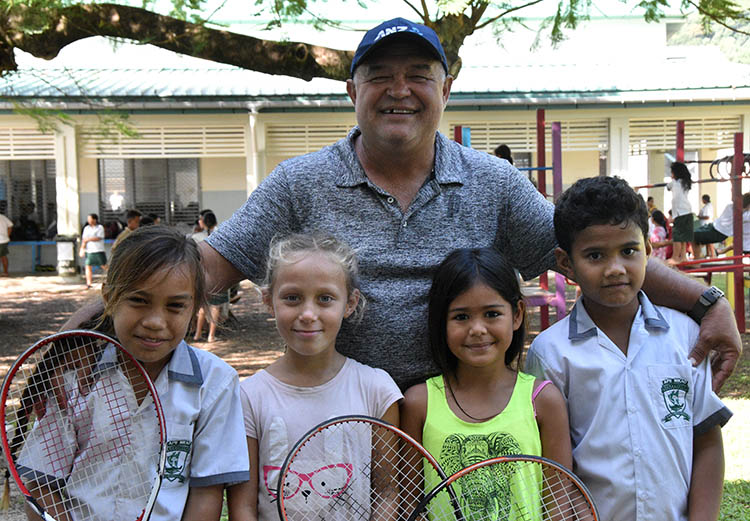 Apii Nikao tennis reps ready for debut