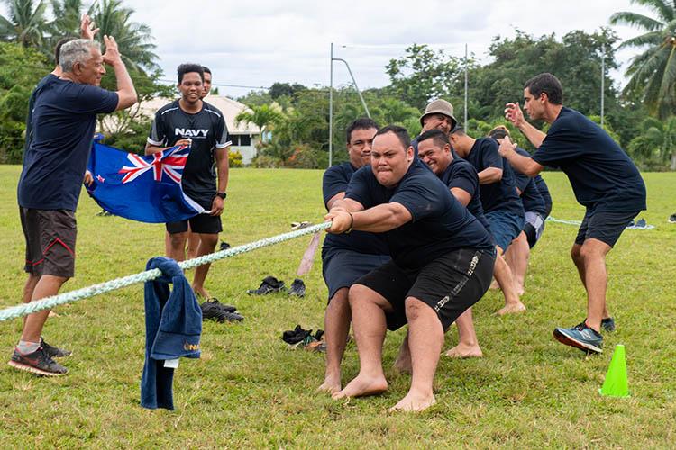 Cooks beat NZ Navy in friendly