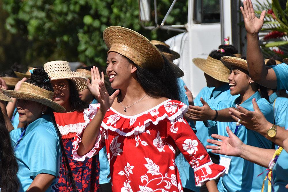 Celebrating culture at Te Maeva Nui