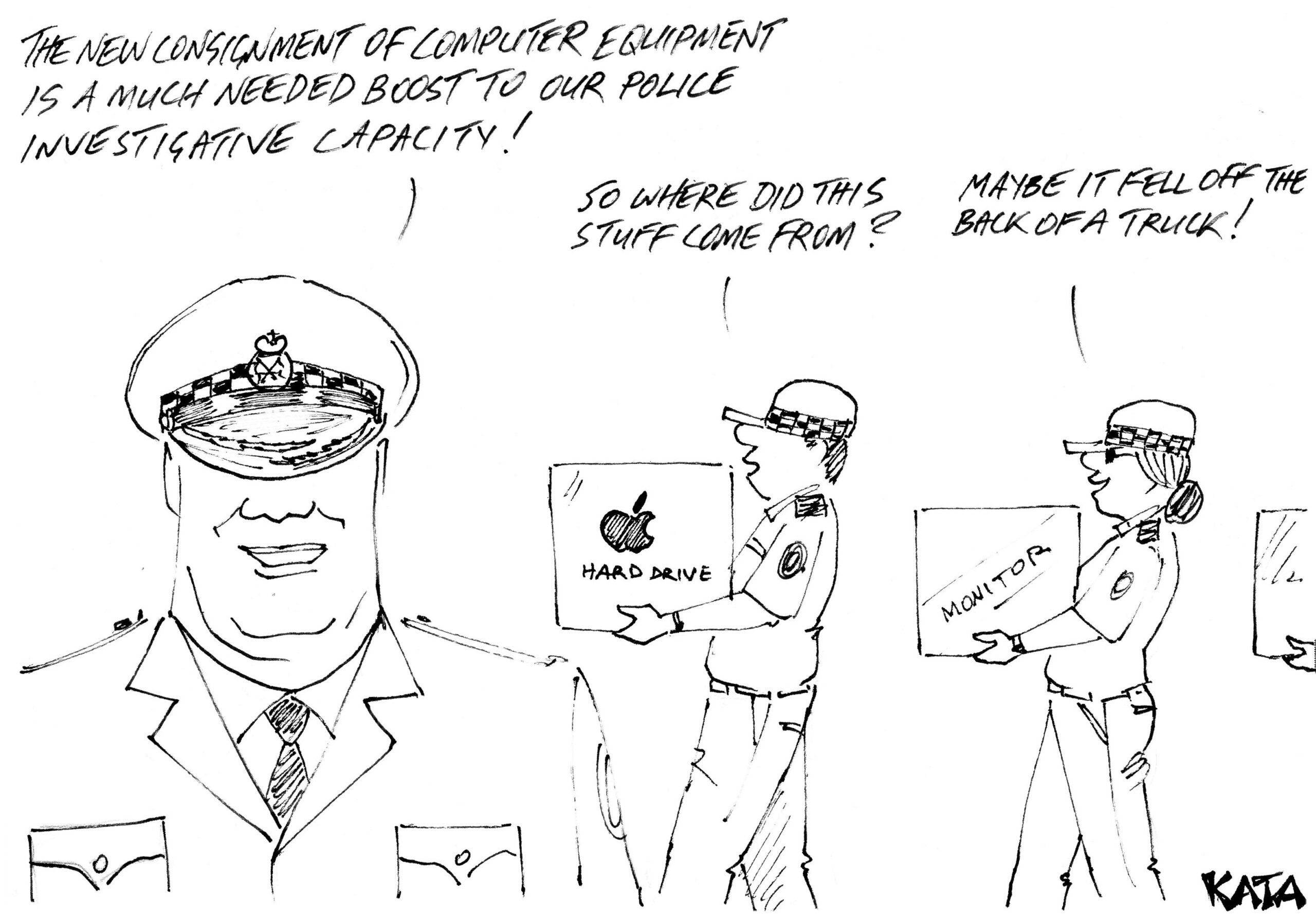 KATA: Computer gear for police