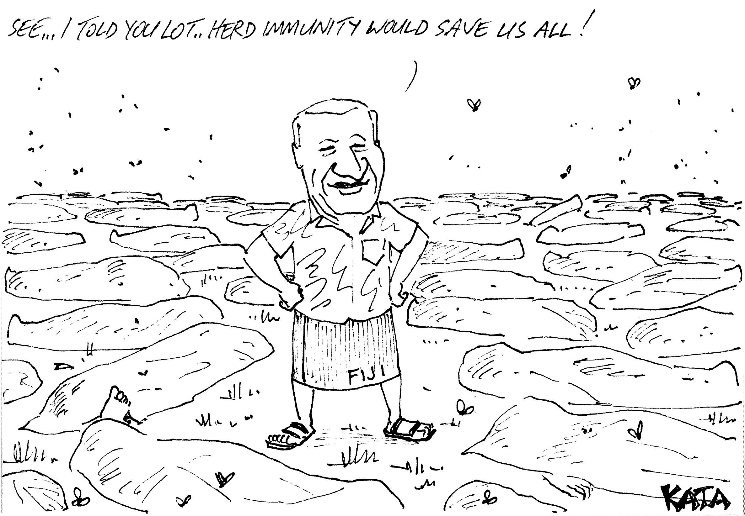 KATA: Herd immunity