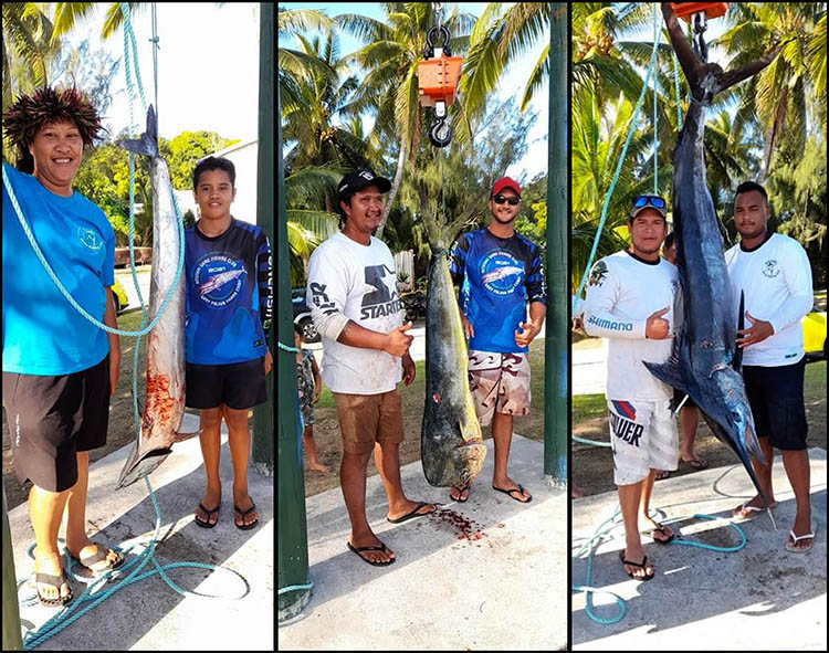 Aitutaki wins Gary Parlour and Goldie Goldie Fishing comps