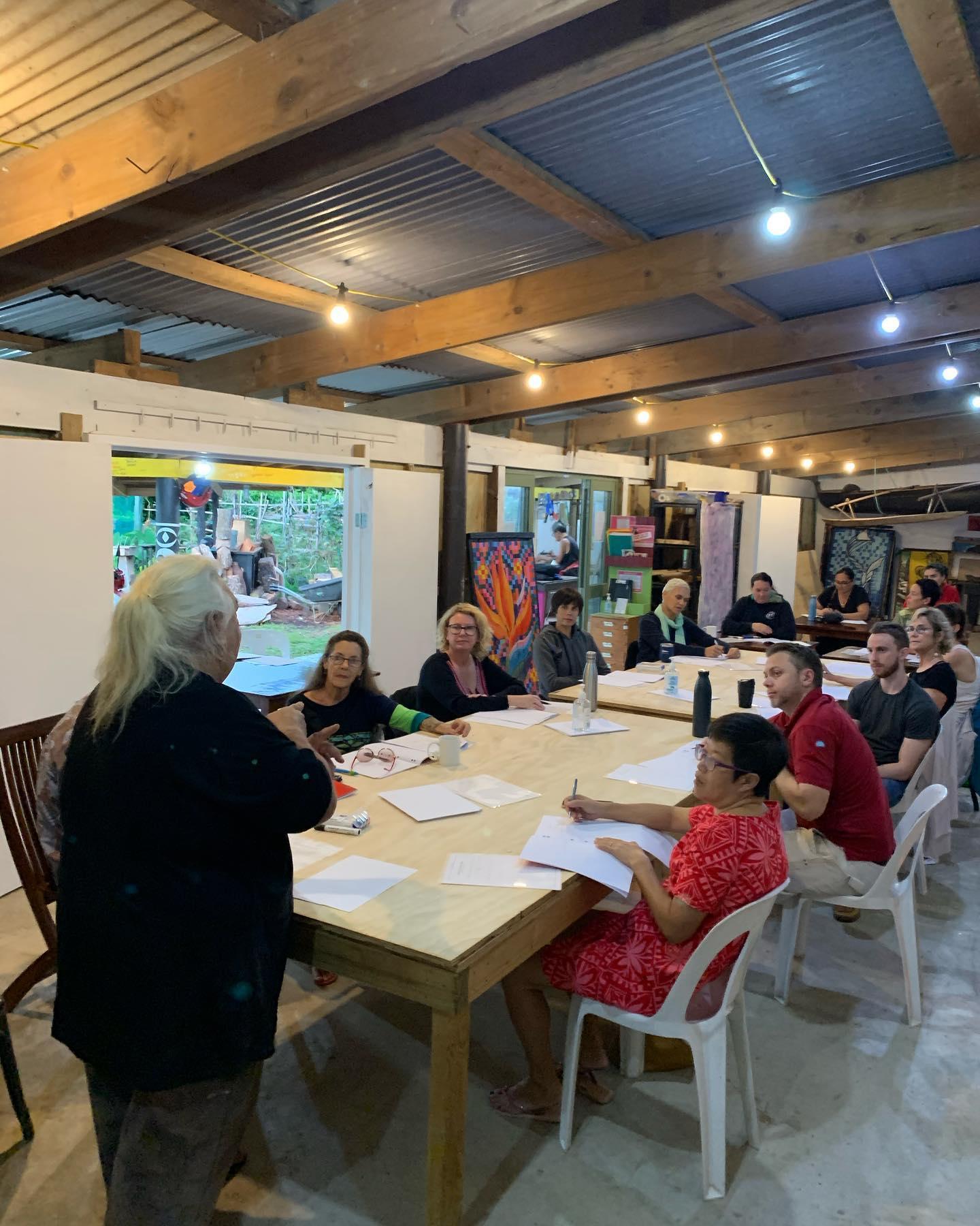 Everyday phrases  help Mike Tavioni teach Maori