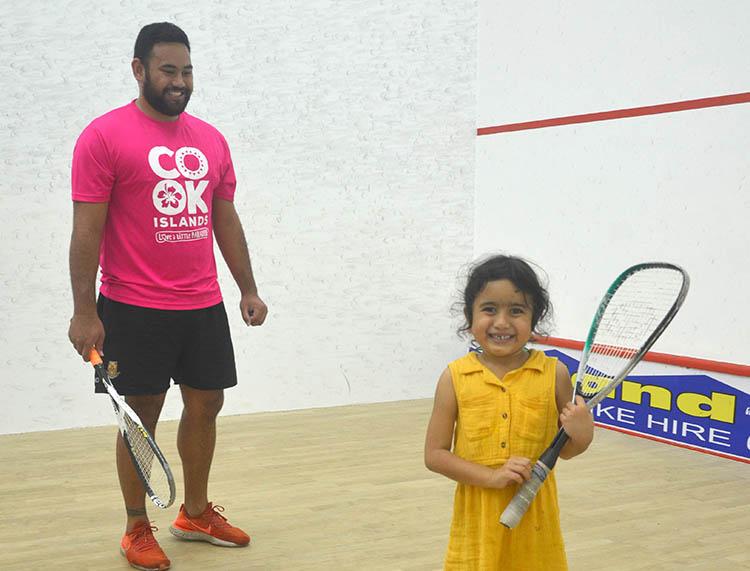 Squash tournament proves rewarding and challenging