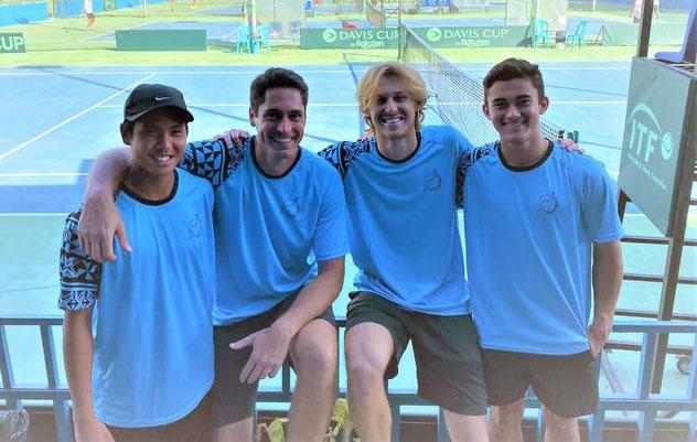 Pacific Oceania tennis team targeting Davis Cup promotion