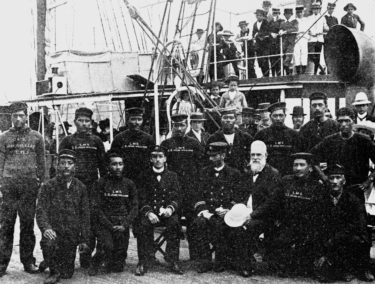Salt in their blood – The story of early Cook Islanders at sea