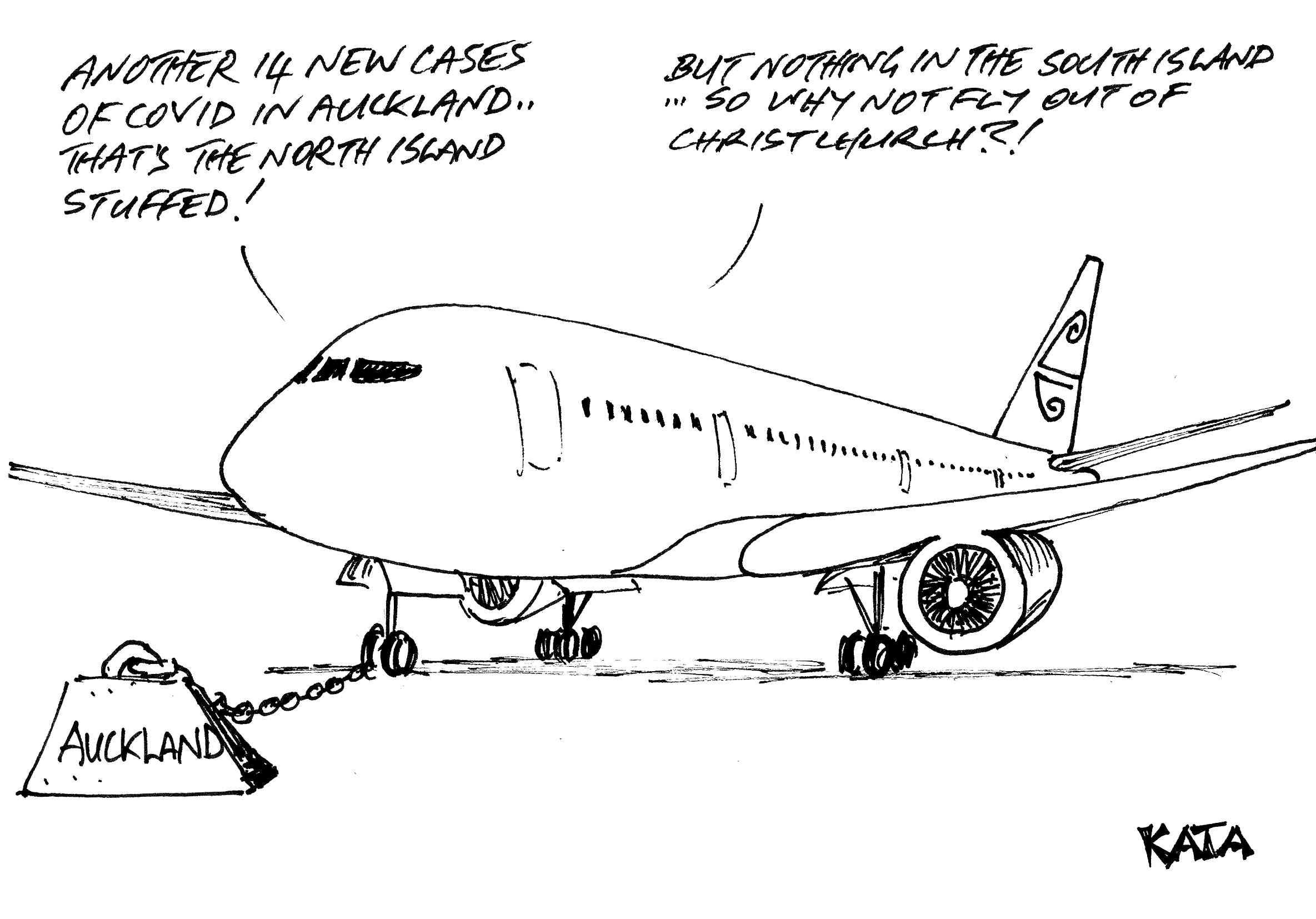 KATA: South Island flights?