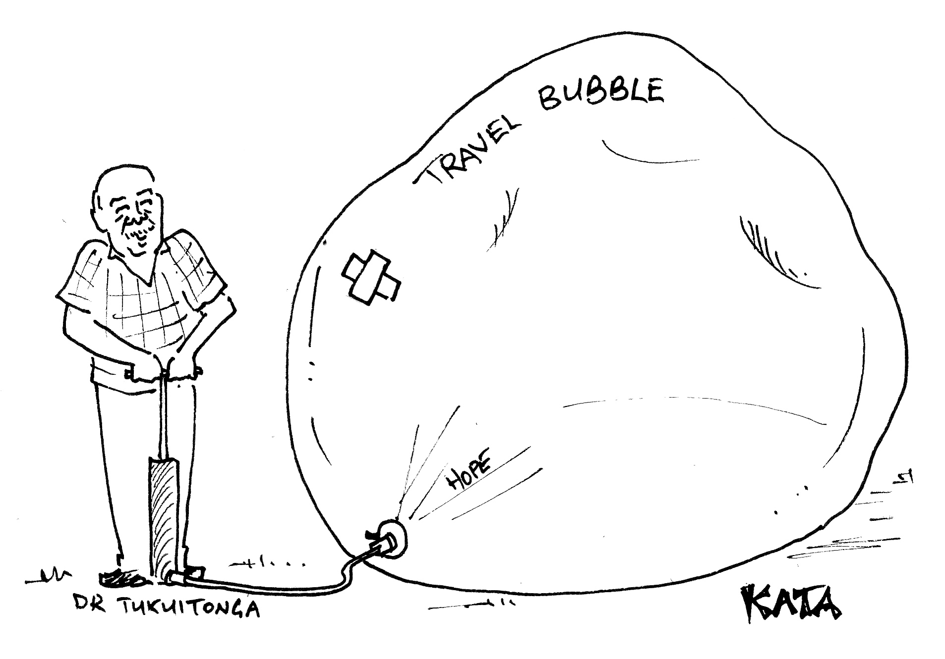 KATA: Re-inflating the travel bubble