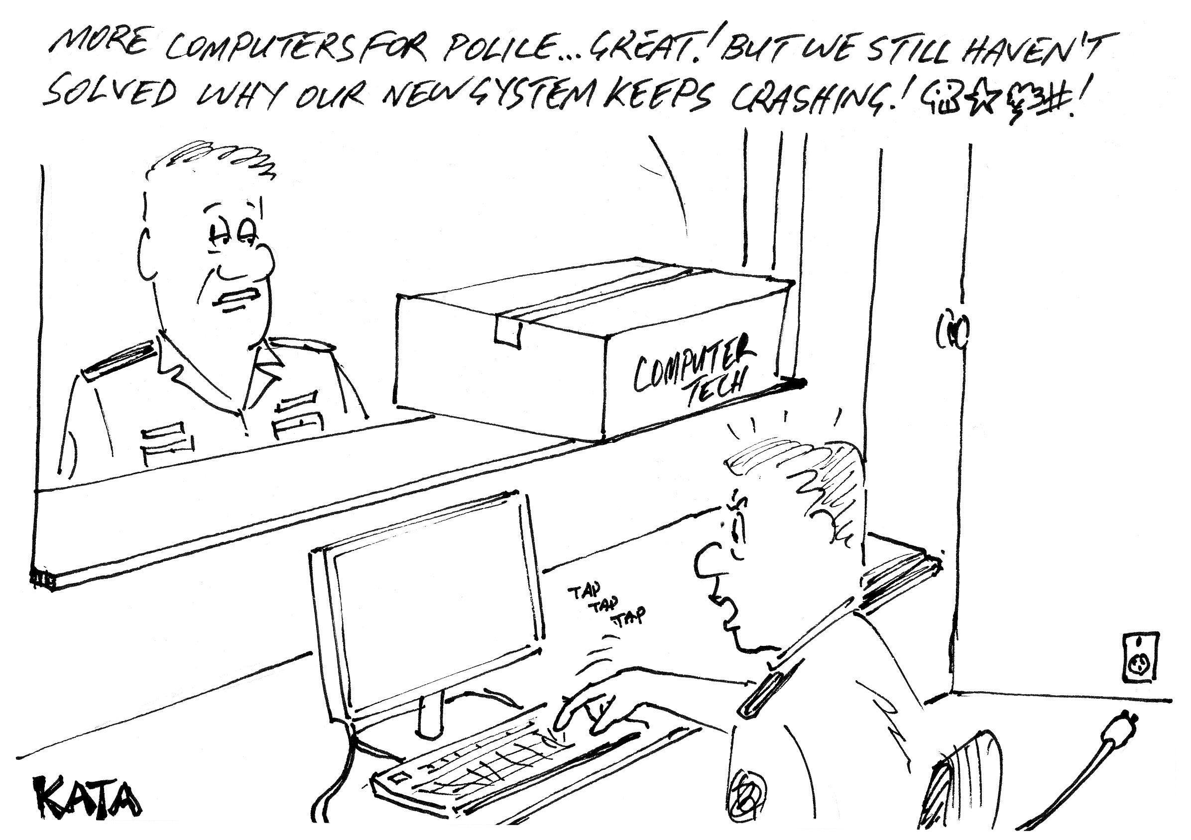 KATA: New computers for cops