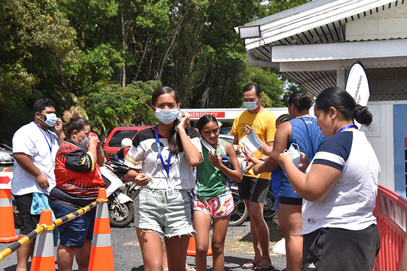 86 per cent of Rarotonga's youth receive first jab
