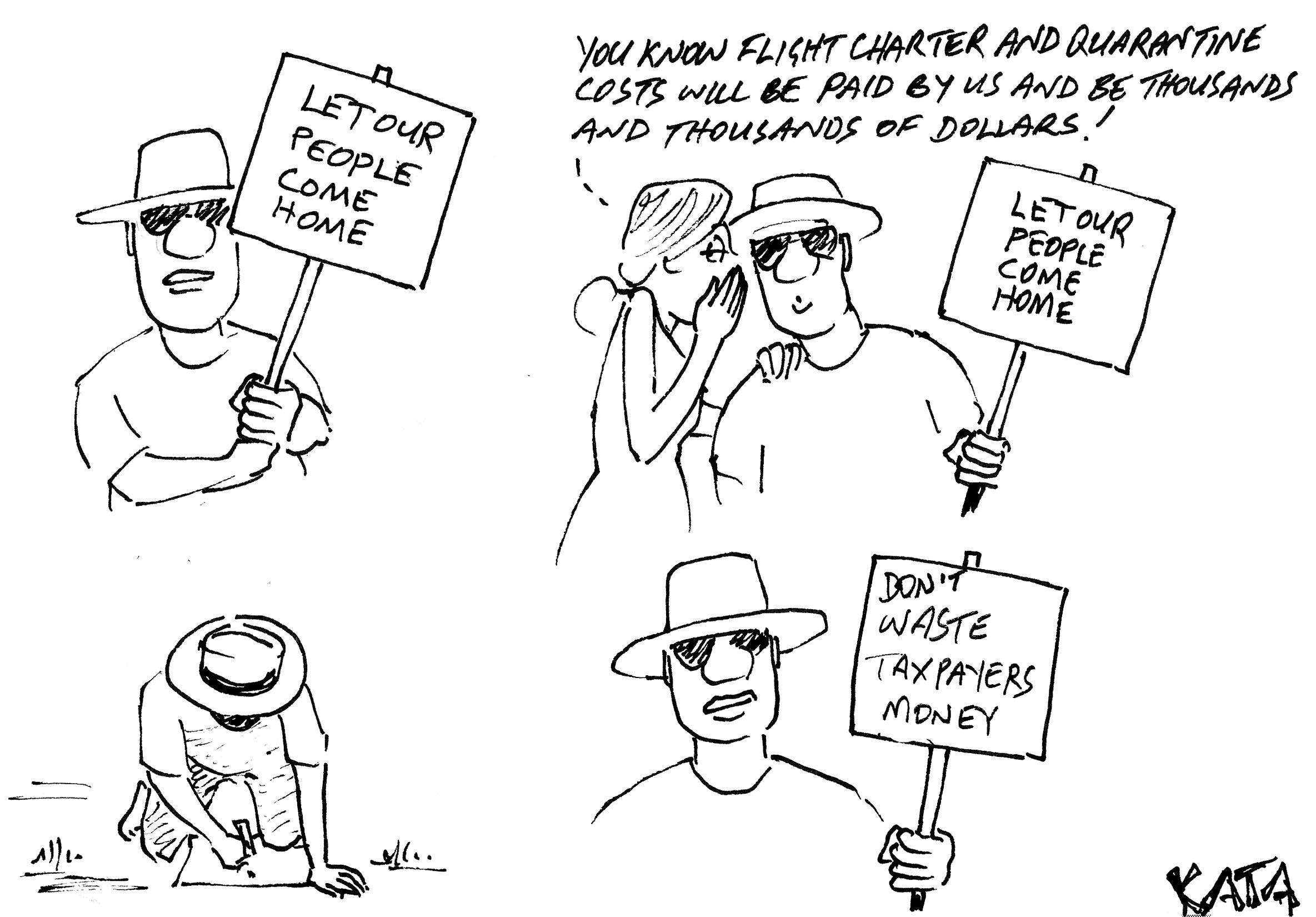 KATA: Chartered Flights